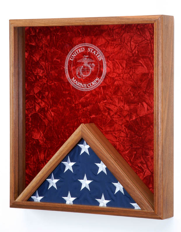 Combo Flag and Display Case