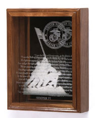 iwo jima memorial case