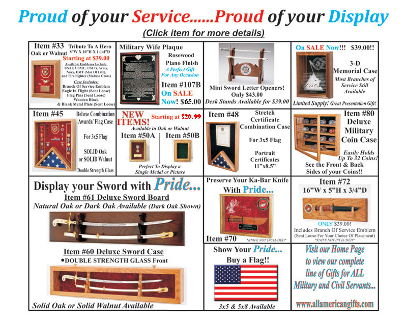 gifts for american soldiers